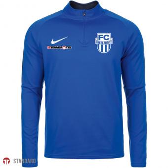Sweatshirt mit 1/4 Reißverschluss für Kinder in blau