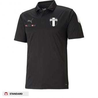 Poloshirt für SchiedsrichterInnen in schwarz